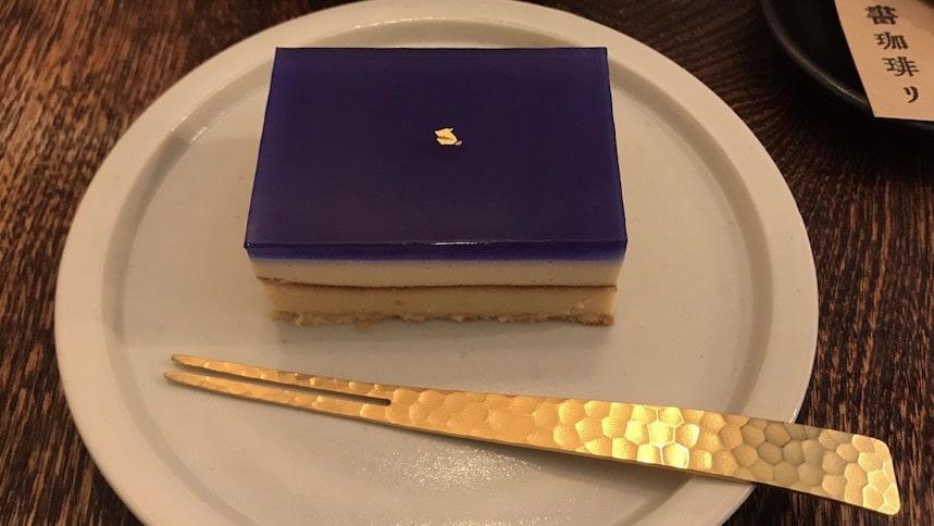 読書珈琲リチルのパロールジュレという名のケーキ