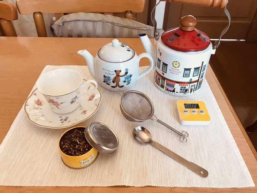 紅茶初心者が最初に揃えたい道具7点