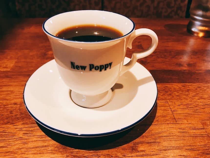 喫茶ニューポピーのニューポピーブレンド