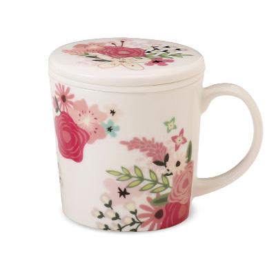 LUPICIAのフタ・茶こし付きマグカップ