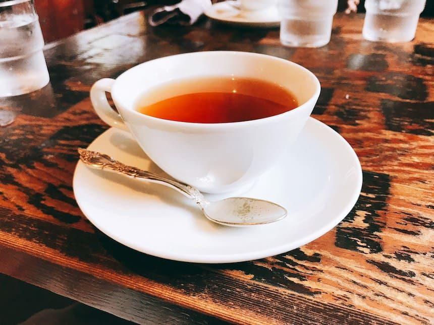 コーヒーショップKAKOのアールグレイ