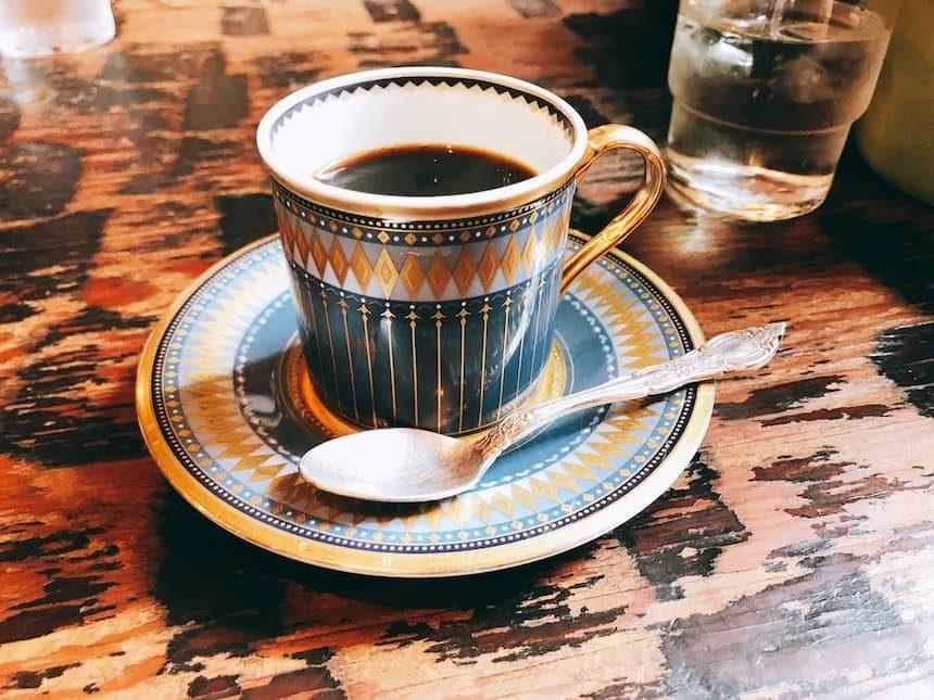 コーヒーショップKAKOのホットコーヒー