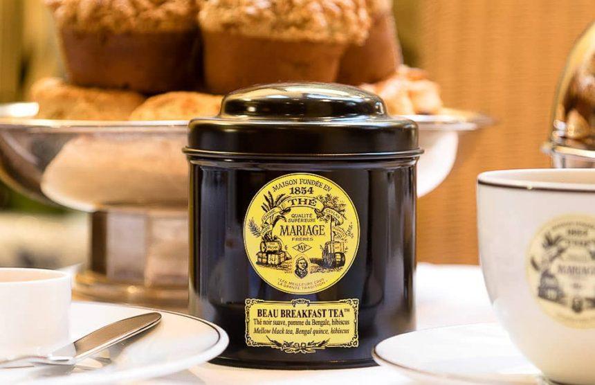 マリアージュフレールの紅茶の缶