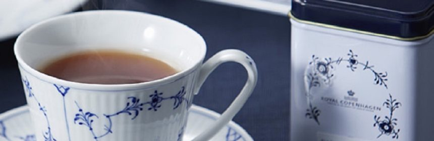 ロイヤルコペンハーゲンのティーカップと紅茶