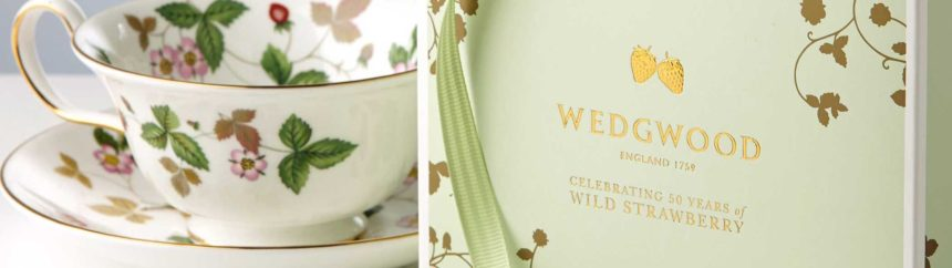 WEDGWOODの紅茶とティーカップ
